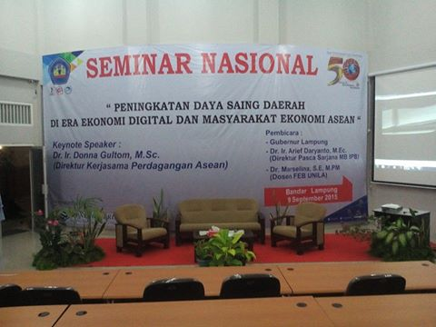 Seminar Nasional dan Call for Paper