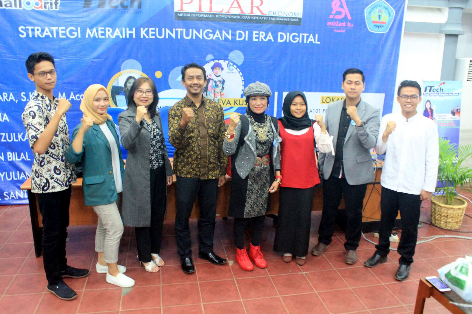 UKPM-F PILAR Adakan Workshop Informasi Digital