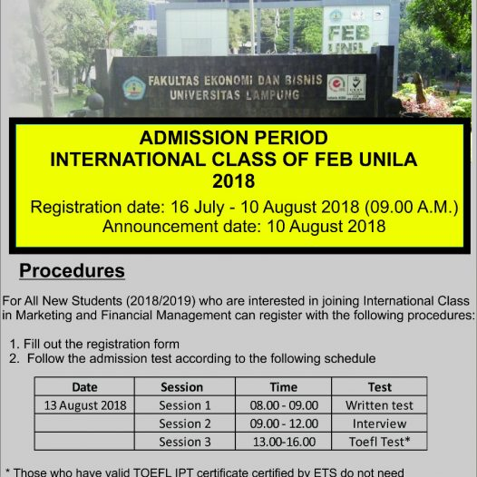 International Class Enrollment 2018-2019