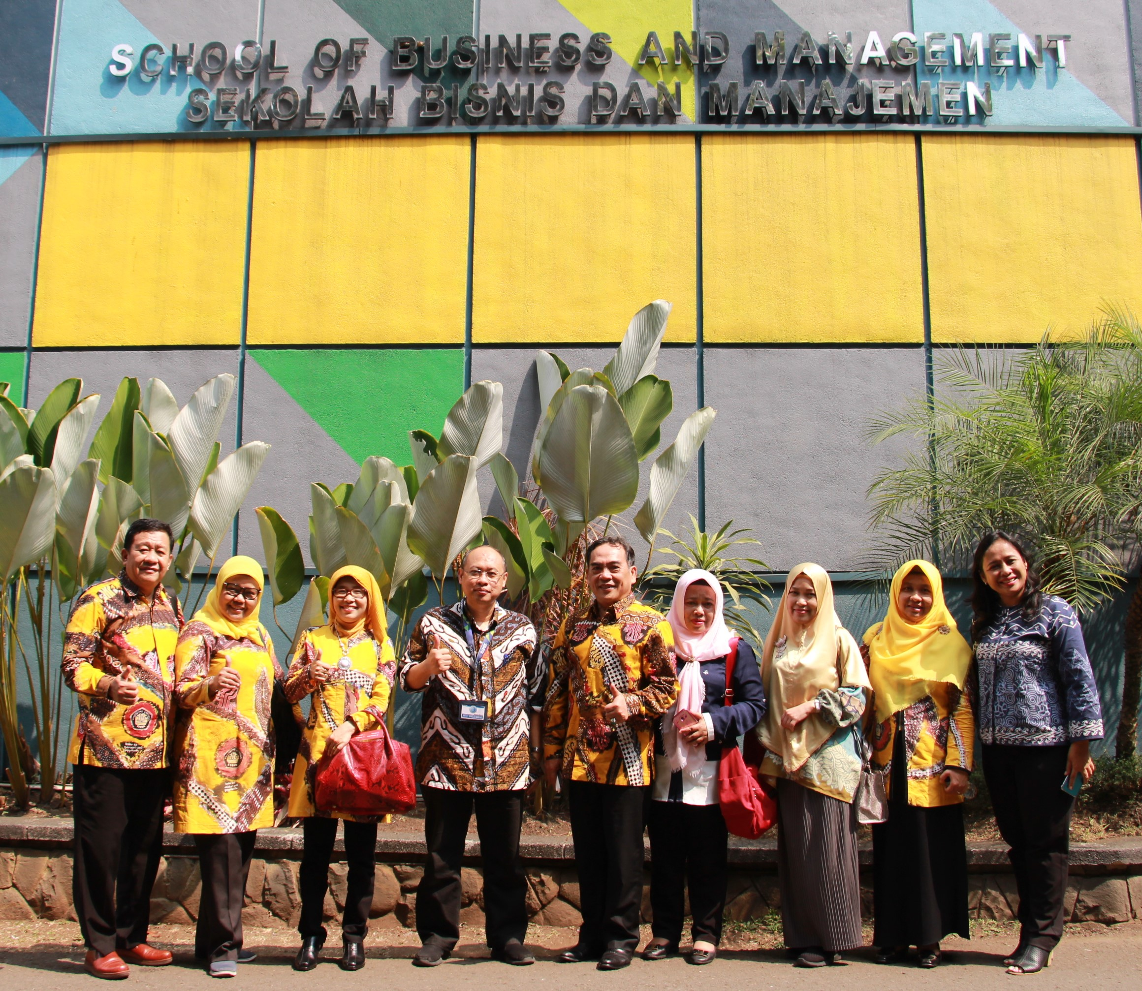 FEB Unila Visited ITB
