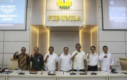 Dean of FEB Unila Opens IAI Member Meeting in Lampung Region