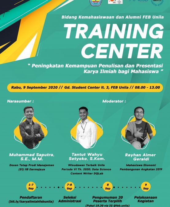 Training Center Batch 2