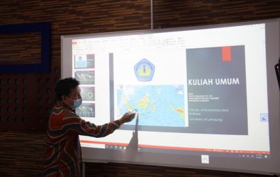 FEB Unila officially Launches the Innovation and Research Center, Learning Studio, and Digital Academic Services
