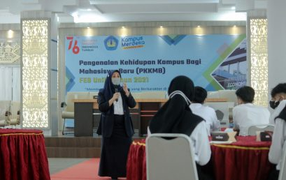 A Total of 577 New Students Take Part in The PKKMB at The Faculty Level