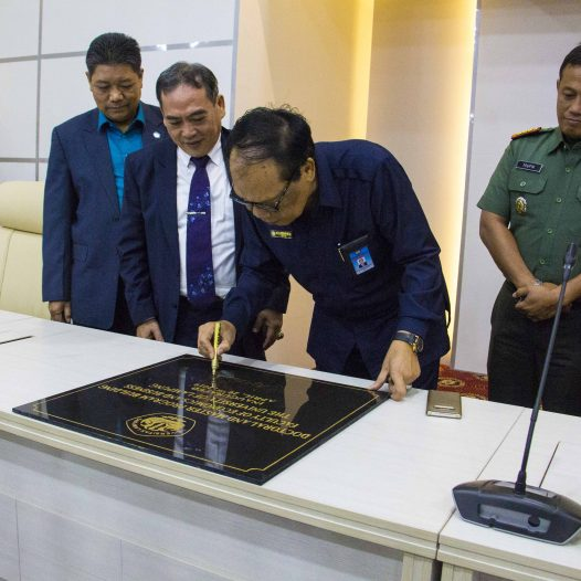Rector of the University of Lampung Inaugurated the Postgraduate Building of FEB Unila.